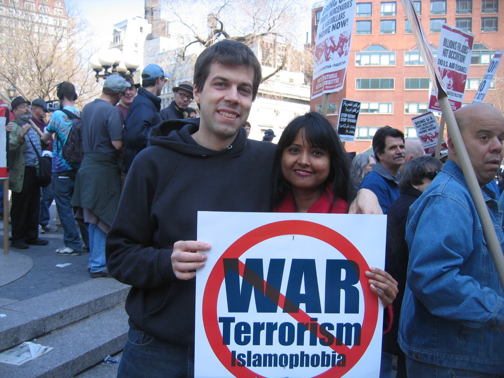 Anti-War, Terrorism & Islamophobia Rally