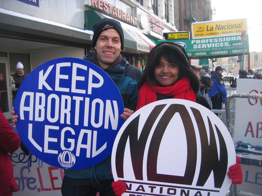Pro-Choice Clinic Defense in Bronx