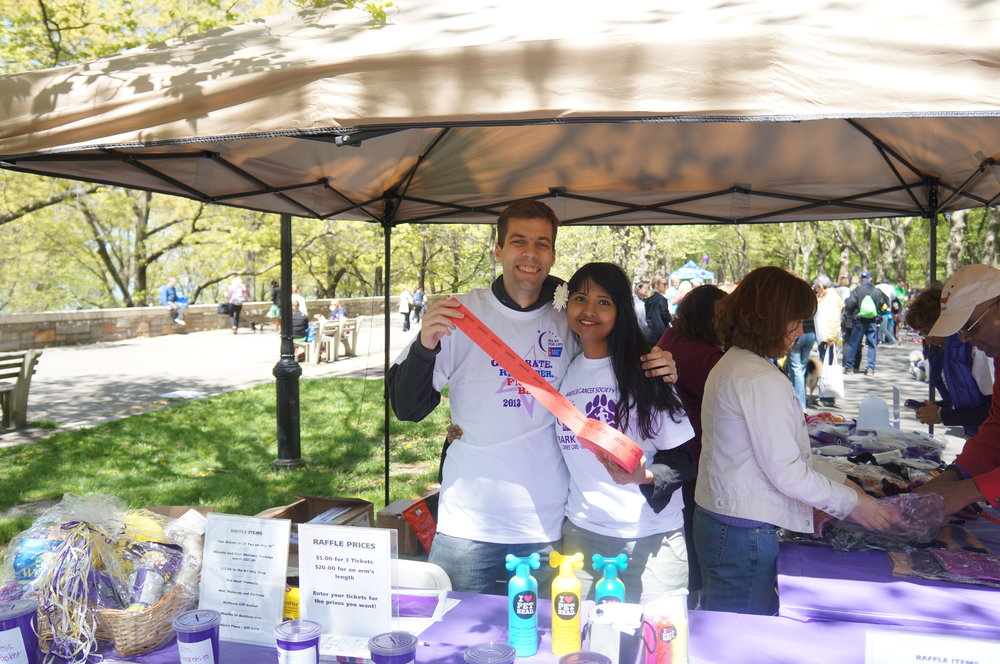 Volunteering for American Cancer Society