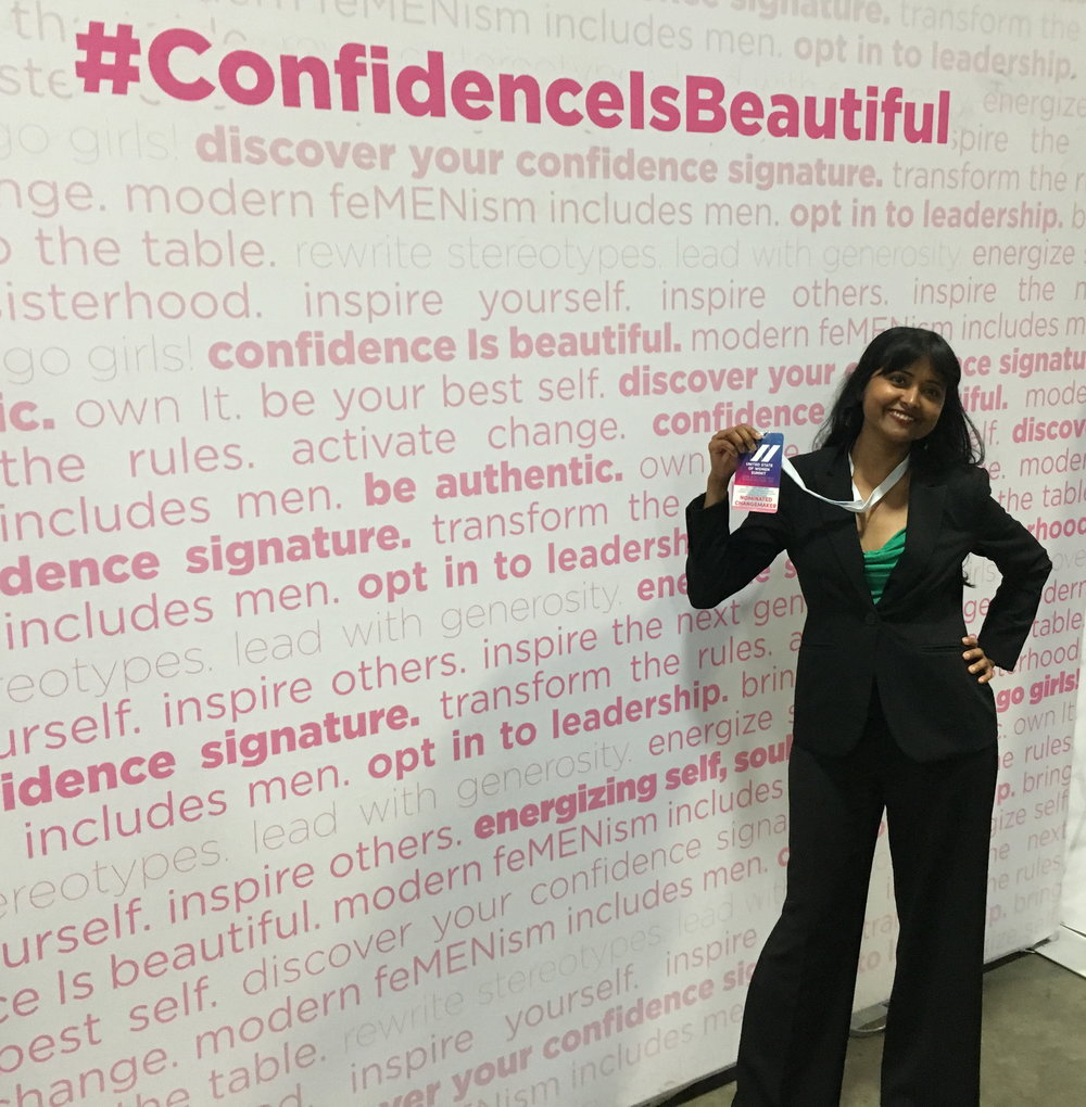 Confidence is Beautiful: Historic United State of Women Summit