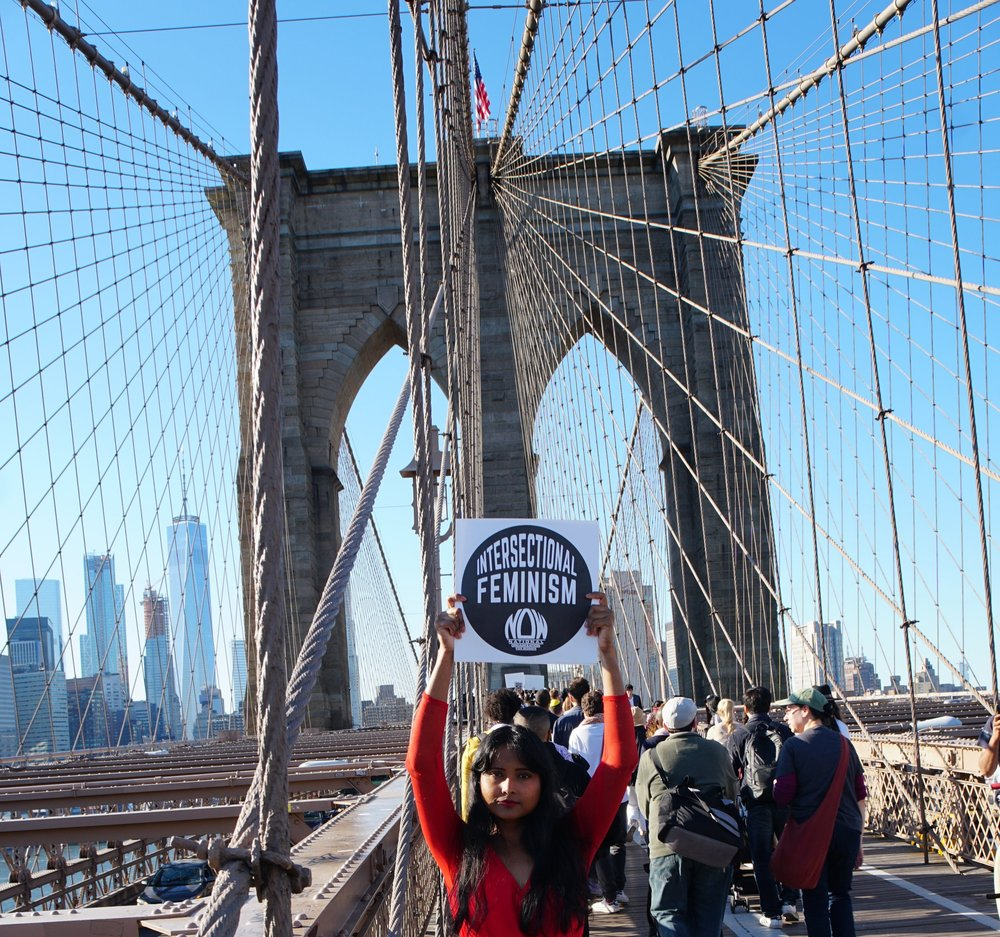 March for Racial Justice, Brooklyn Bridge, New York City