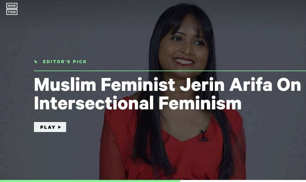 "Intersectionality / Convening Unlikely Allies  In this video with over 500,000 views, Jerin explains intersectionality and the need for intersectional feminism  ""simply and clearly."""
