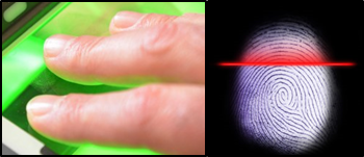 Sapphire for biometric (fingerprint scanning) systems