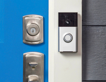 Sapphire for video doorbells and security camera systems