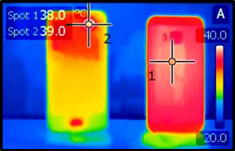 Sapphire for thermal imaging/infrared (IR) cameras & thermal management(cooling/heat sink)