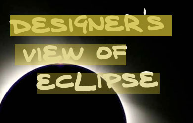 Designer's view of eclipse