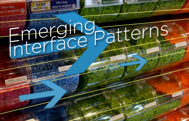 Emerging Interface Patterns