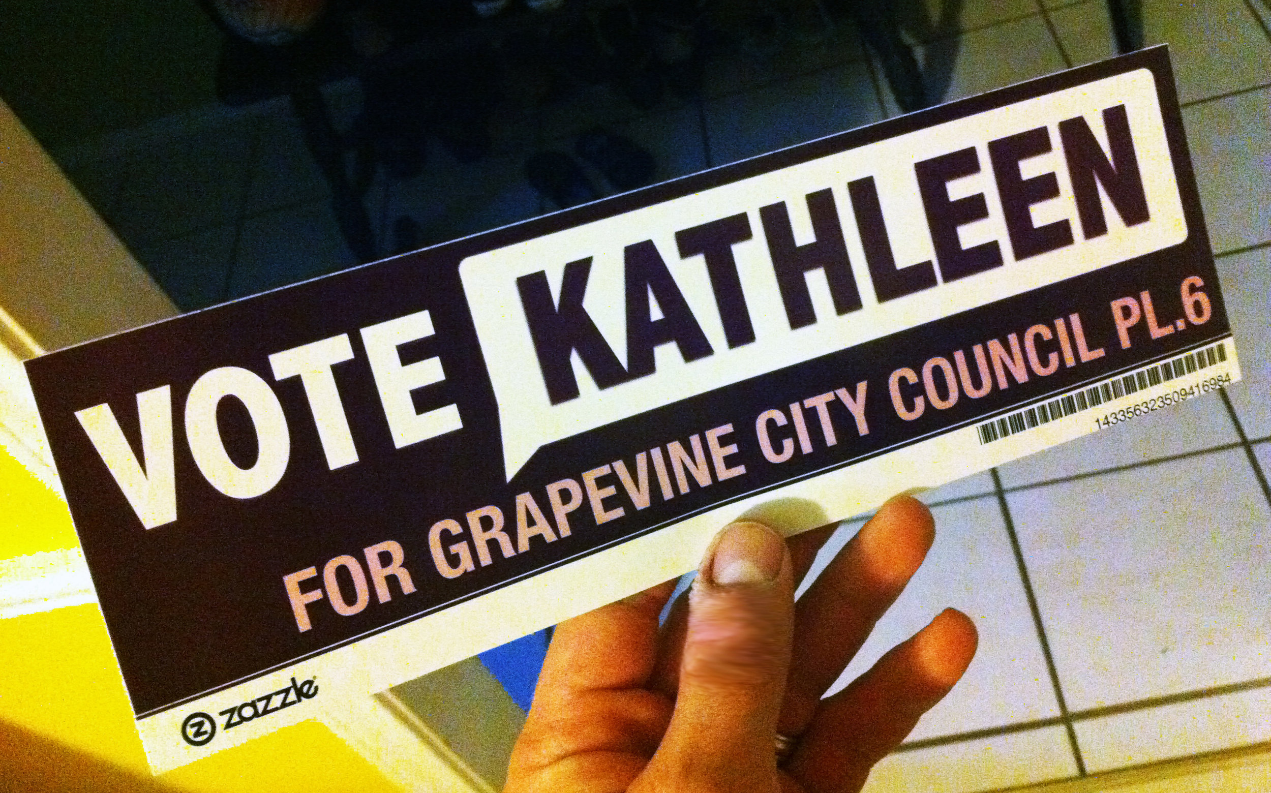 Vote Kathleen Thompson for Grapevine City Council