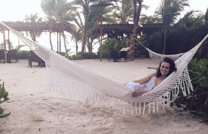 hammock white dress