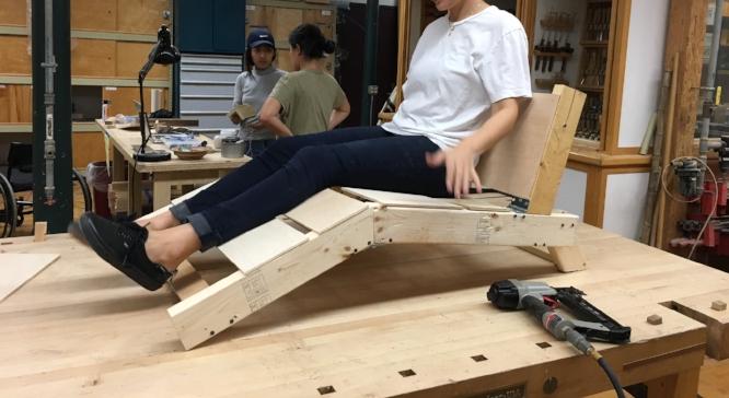 First full scale model, for ergonomic testing