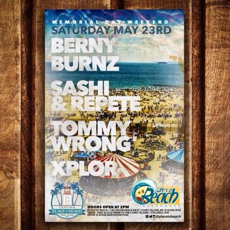 Place To Beach Flyer (Memorial Day Weekend 2015).jpg