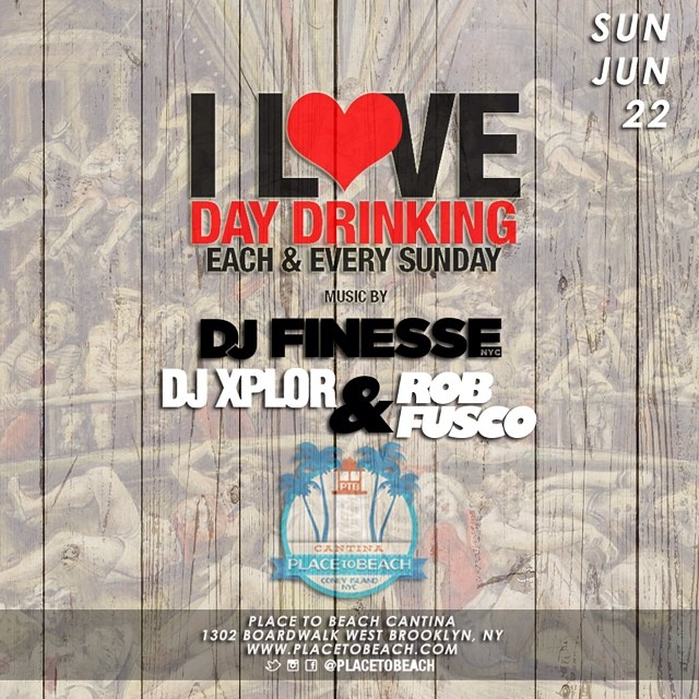 Place To Beach Flyer (Sunday June 22nd) (Xplor, Finesse, Fusco).jpg