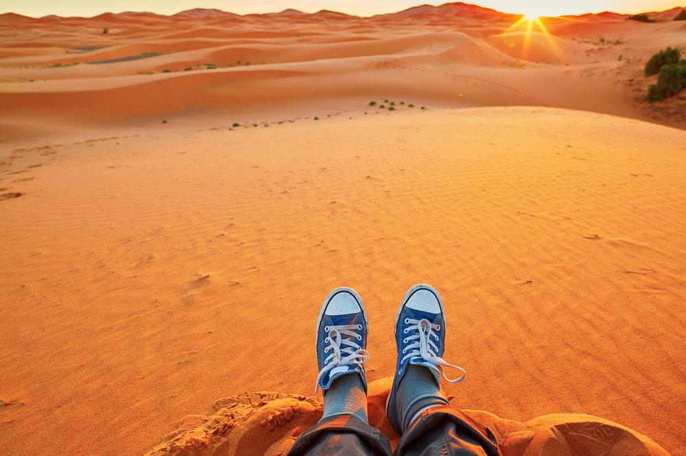 Chuck Taylors on Sahara Dunes iStock-500302306.jpg