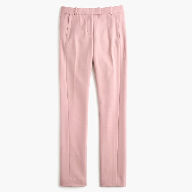 Pale Blush Fitted Pants