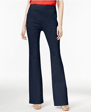 Curvy Fit and Flare Pants