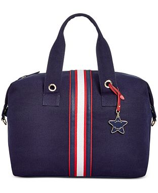 Tommy Hilfiger Striped Duffel