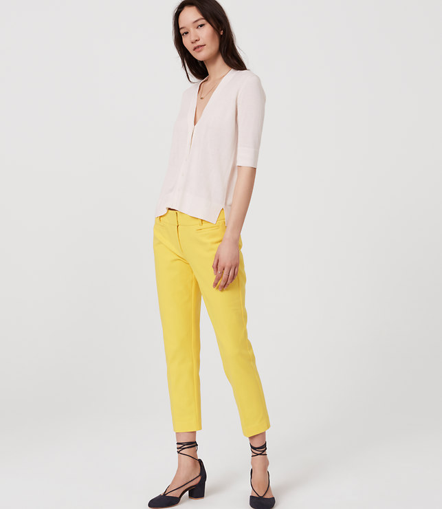 Yellow Riviera Pants
