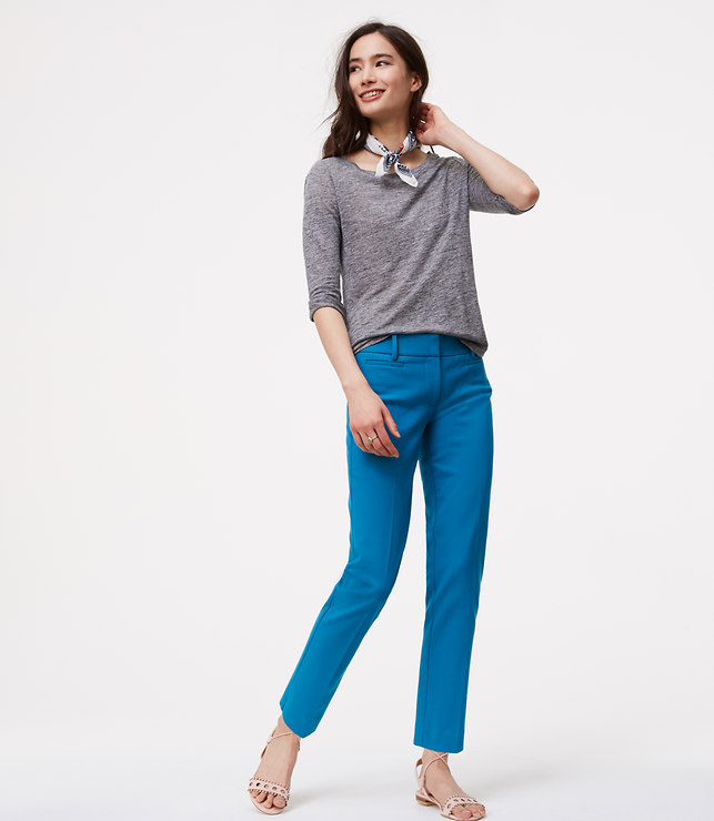 Blue Riviera Pants