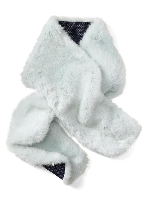 Faux Rabbit Fur Scarf