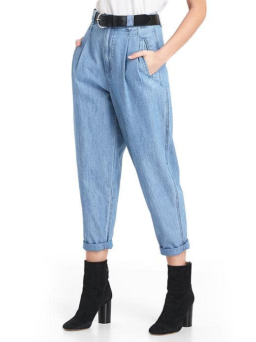 Pleated Fit Pants