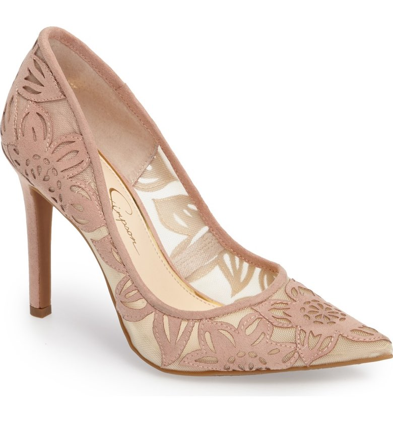 Jessica Simpson Toe Pump