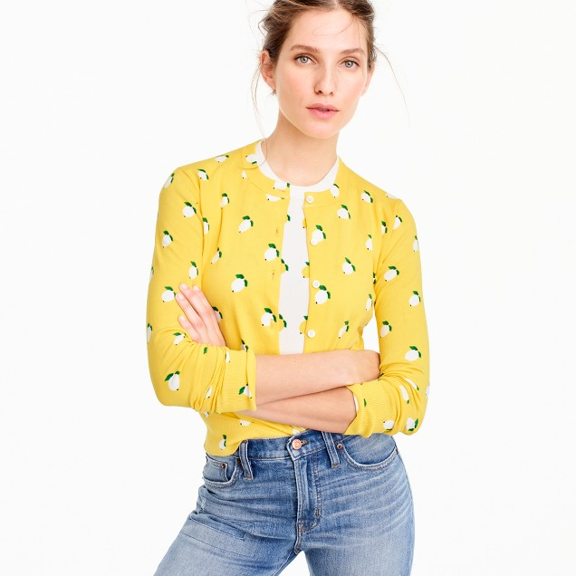 Yellow Sun Cardigan