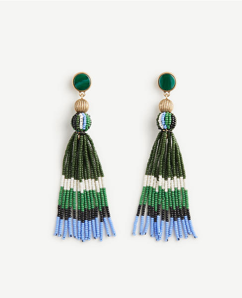 Seed Tassel Earrings