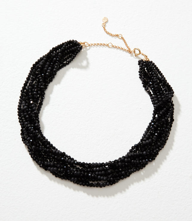 Multistrand Bead Necklace