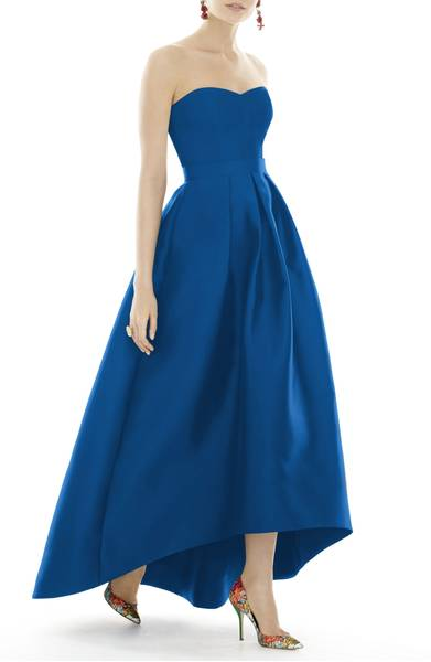 Alfred Sung Strapless Ballgown Dress