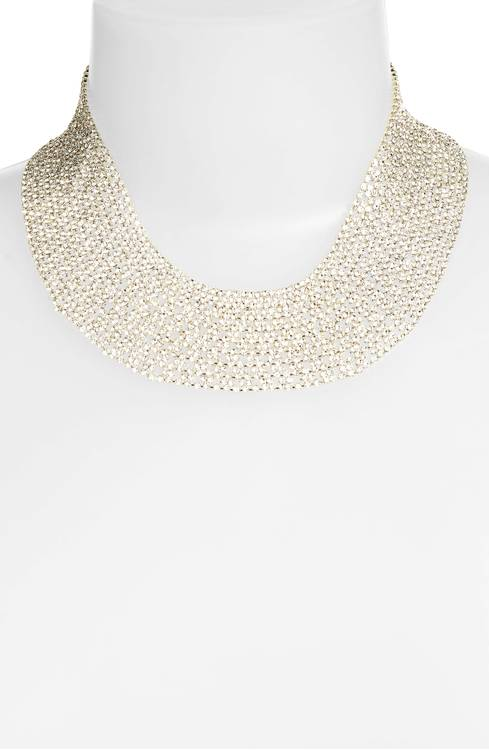 Tasha Crystal Collar Necklace