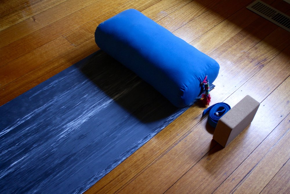 Calm Buddi  yoga props are made from organic cottons & ethically sourced materials.