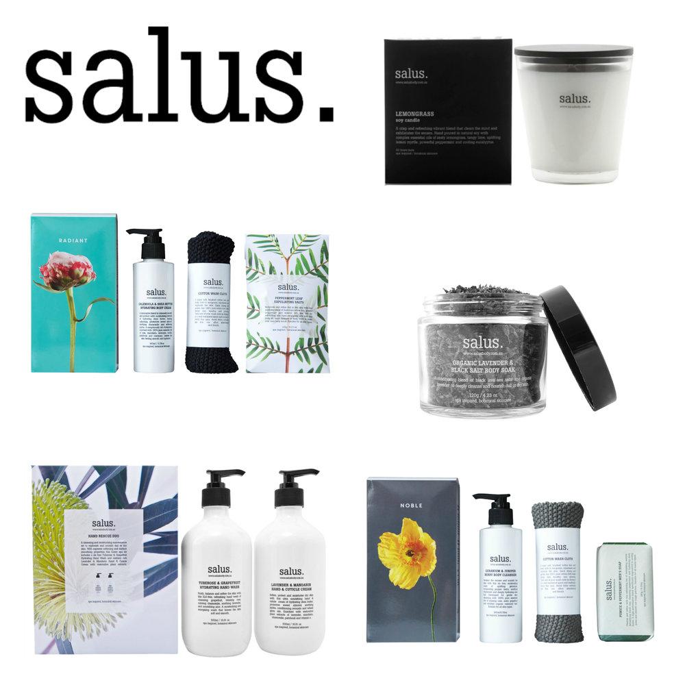 Salus Body botanical skincare online Melbourne free delivery