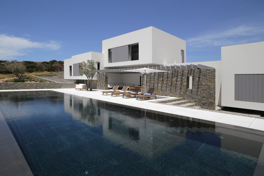 Beyond Spaces   Villa Ghizlane   is one of the finest private residences in the island of Paros, Greece