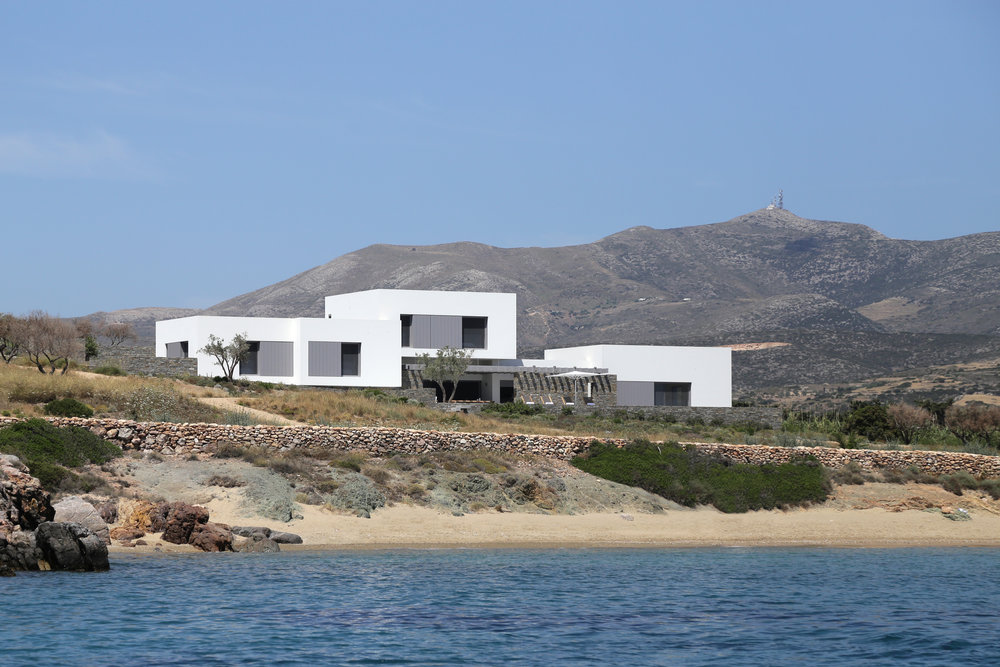 Villa from afar