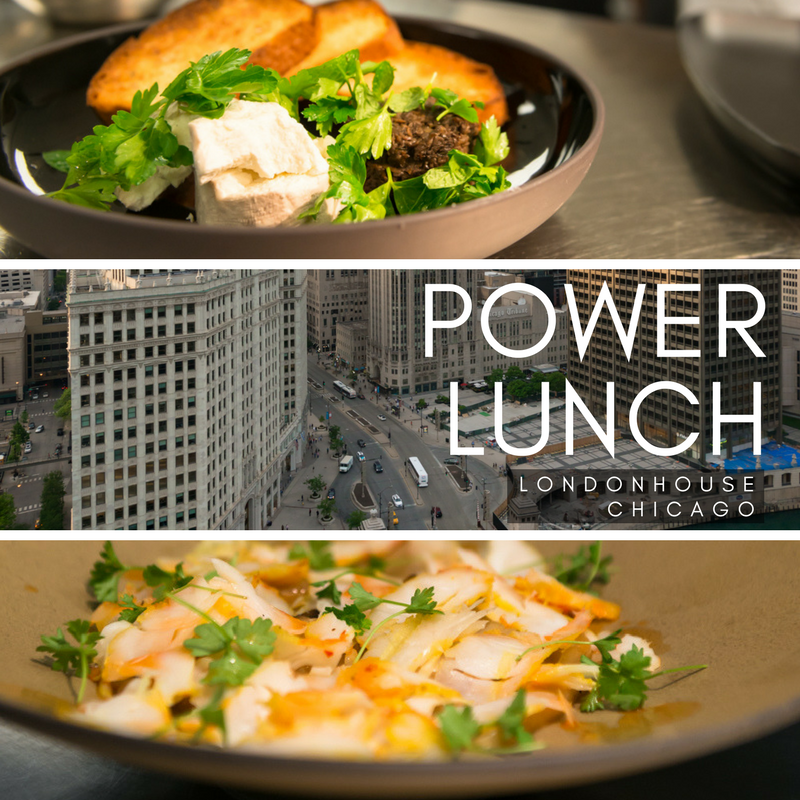 Introducing the Power Lunch at LondonHouse Chicago