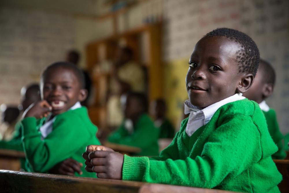 UNICEF supported school children in Tanzania | Photo credit: Rob Beechey