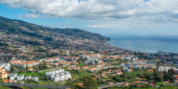 Funchal, the capital city of Madeira. Photo retrieved from Wikipedia.