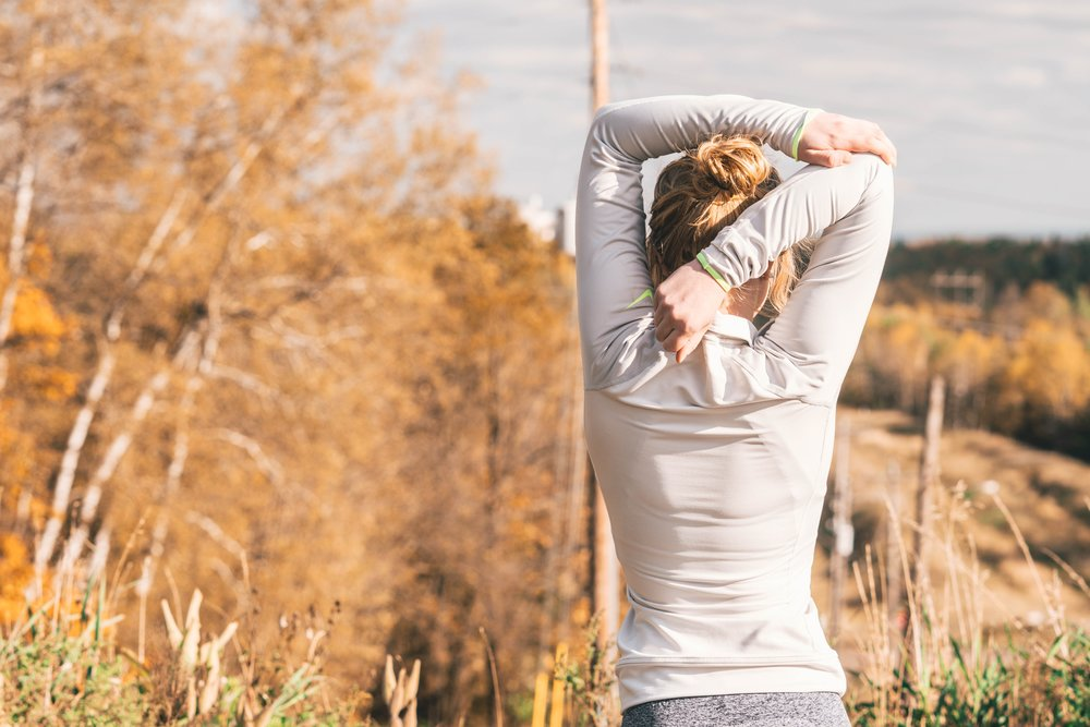 STRETCH and MOVE - Regular stretching and movement patterns become very important to maintain tissue health.