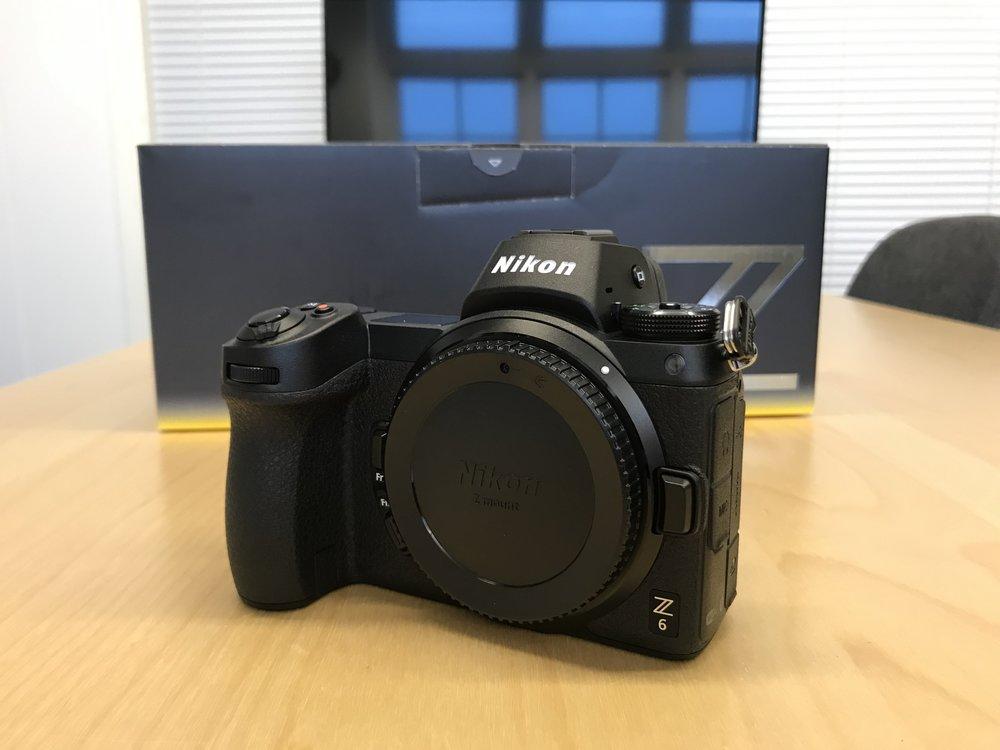 Big mount, small camera.