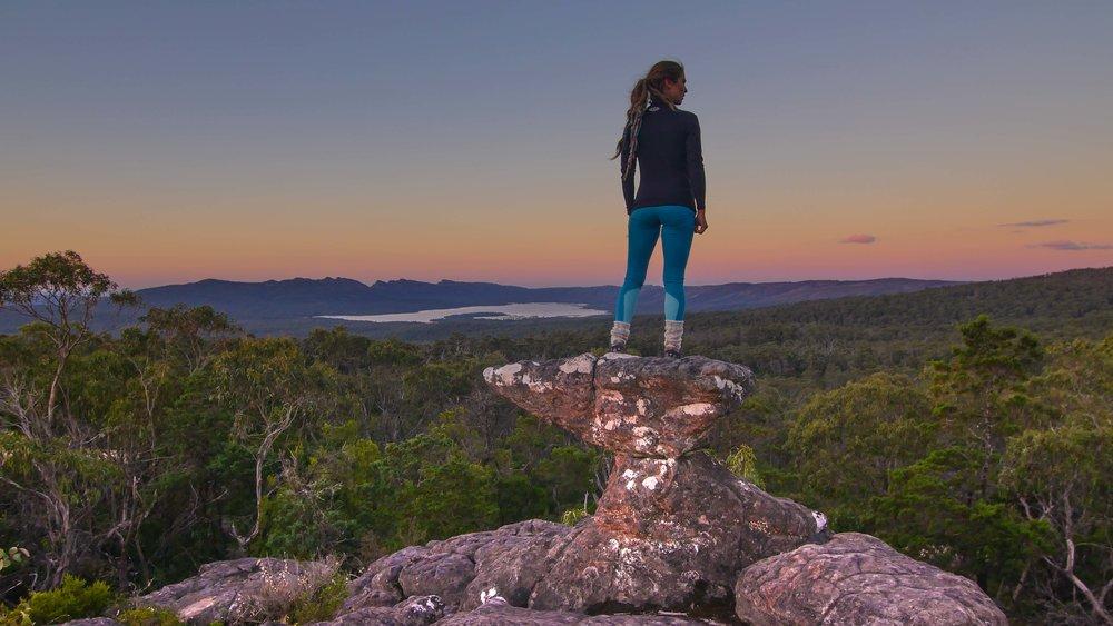 Classic Grampians Rock Formations, Victoria Australia