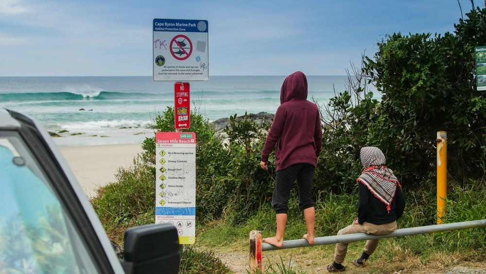 Spot Checks at 7 Mile Beach, Broken Head, Byron Bay