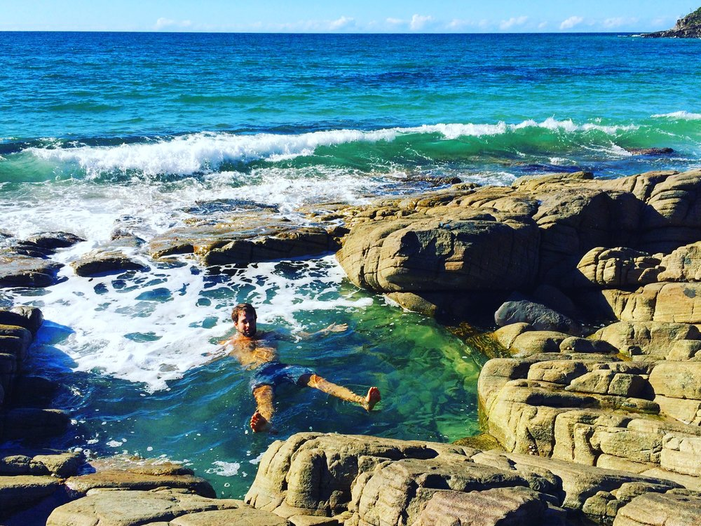 Noosa Heads, Blue Pools, Australia