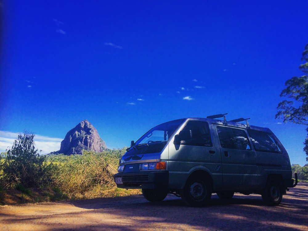 Glasshouse Mountains. Sunshine COast, Australia