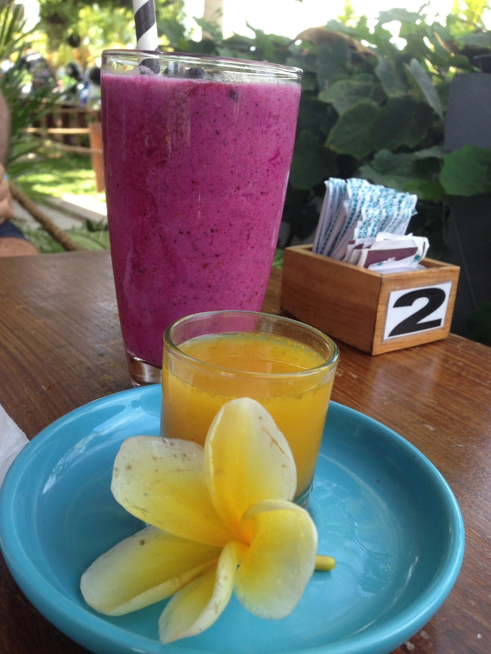You can never go wrong with Smoothies in Indo.