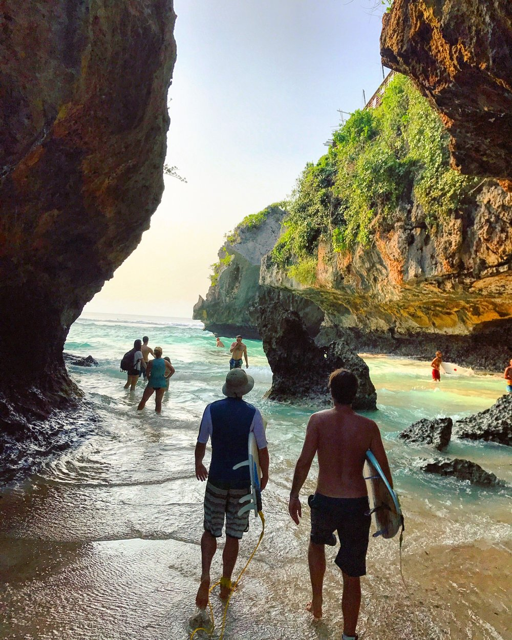 Uluwatu paddle out