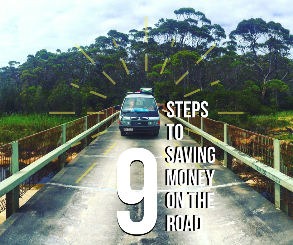 How to save money on the road with 9 easy steps.