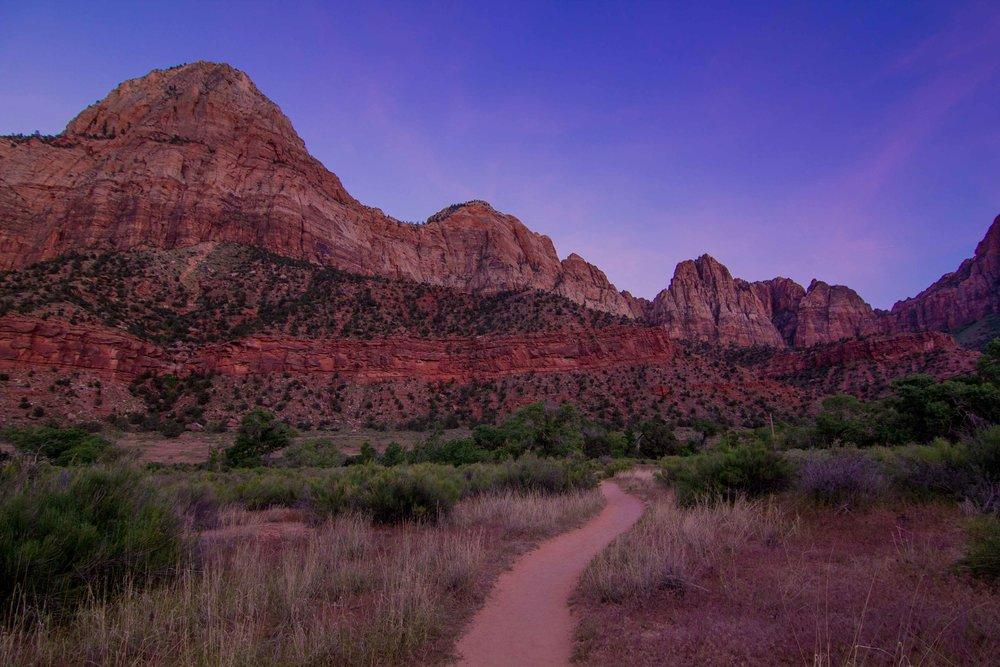 Zion National Park Utah Camping SOuth Campground (1 of 1).jpg