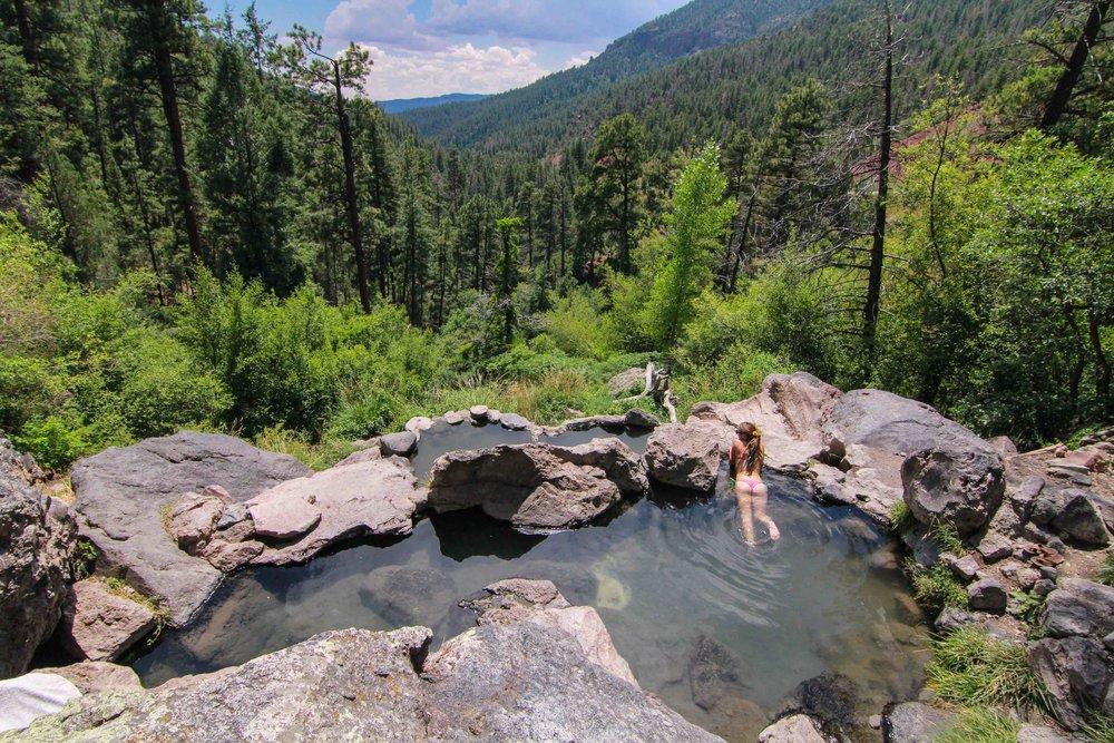Spence Hot Springs Jemez