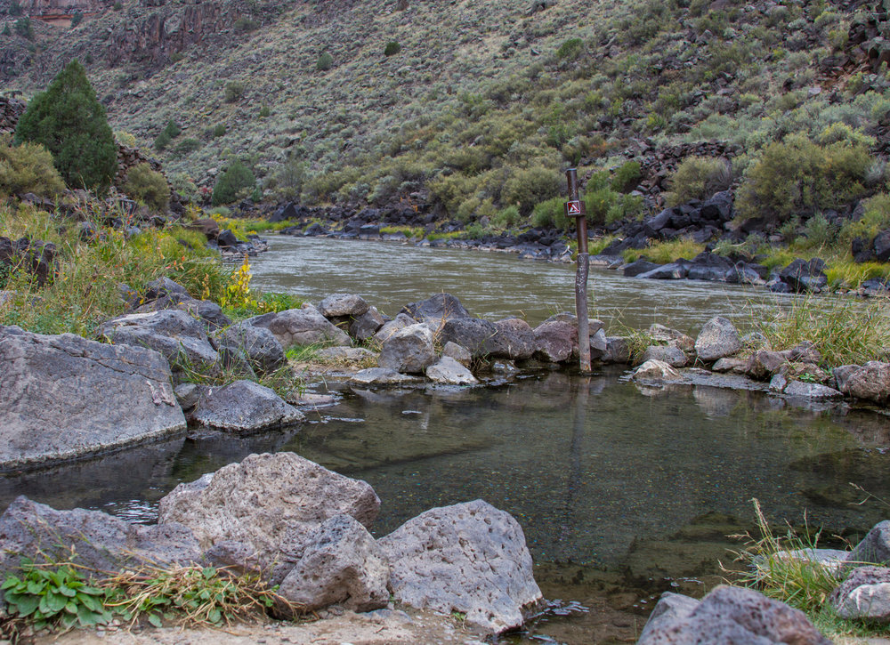 Manby Hot Springs along the Rio Grande.