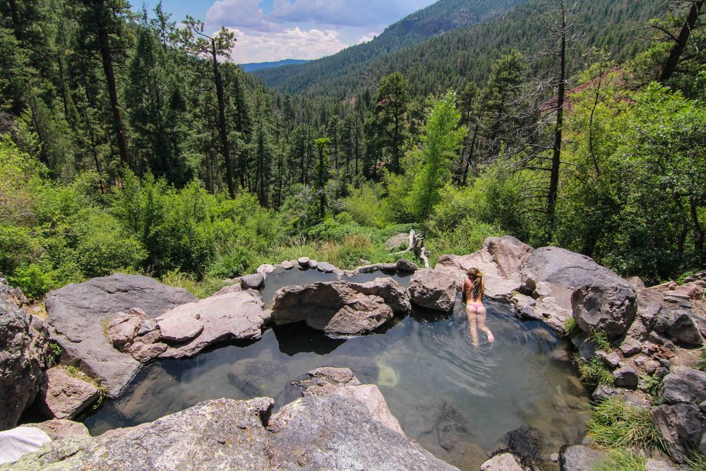 Jemez New Mexico Hot Springs